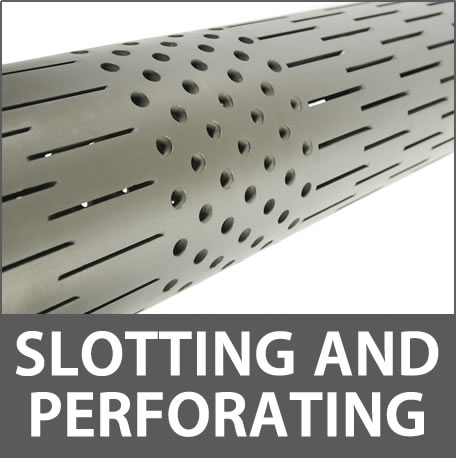Slotting and perforating